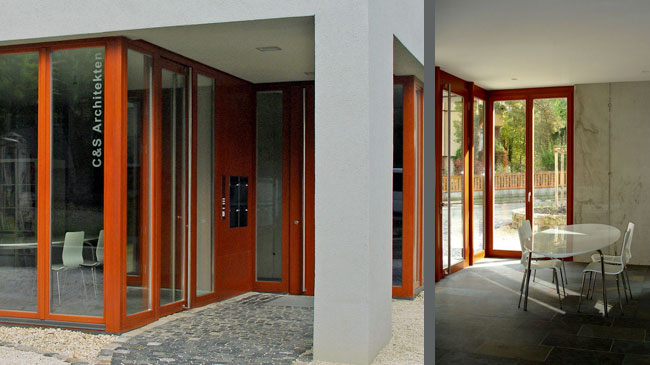 R10 Eingang Büro